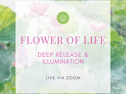 FLOWER OF LIFE HEALING SESSION