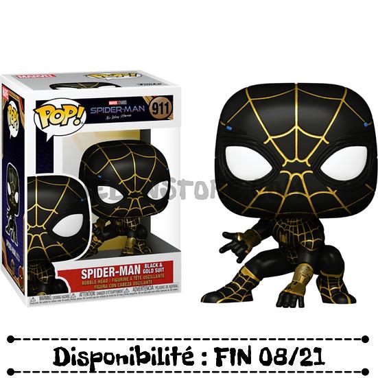 Funko pop [Spiderman No Way Home] Spiderman (Black & Gold suit) - #911