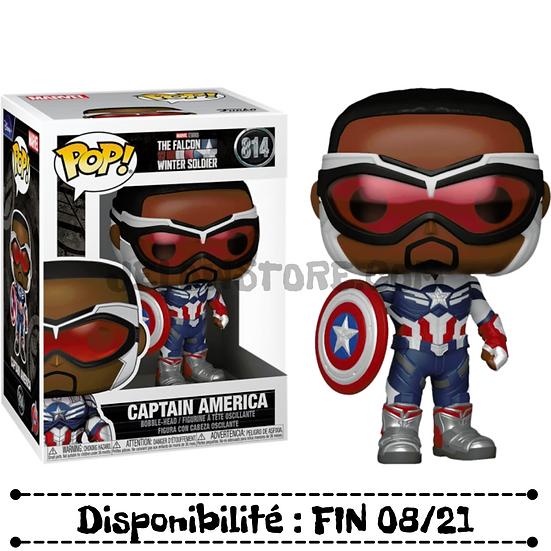 Funko pop [Thefalconandthewintersoldier] Captain america - #814