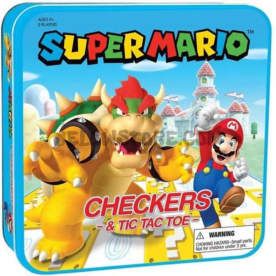 Super Mario - Jeu de dames Tic-Tac-Toe Mario vs. Bowser Coll [JEU DE SOCIETE] FR