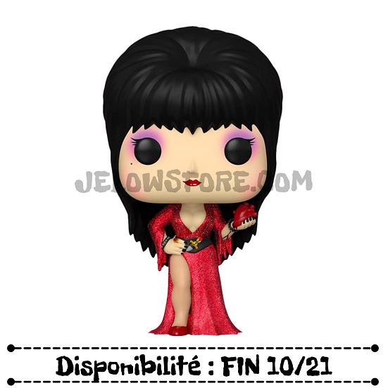 Funko pop [Elvira 40th Anniversary] Elvira with Heart Diamond Glitter