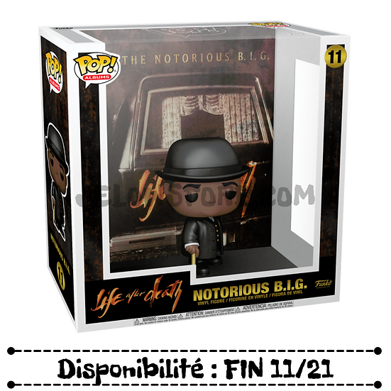 Funko pop Albums [The Notorious Big] Life After Death - #11