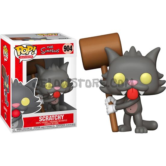 Funko pop [Simpsons] Scratchy - #904
