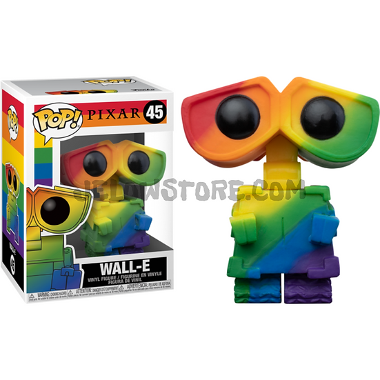 Funko pop [RainbowPride2021] Wall-E - #45