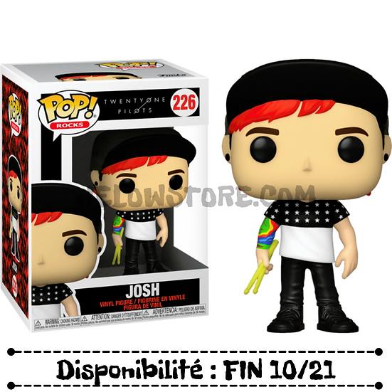 Funko pop [Twenty One Pilots] Josh - #226