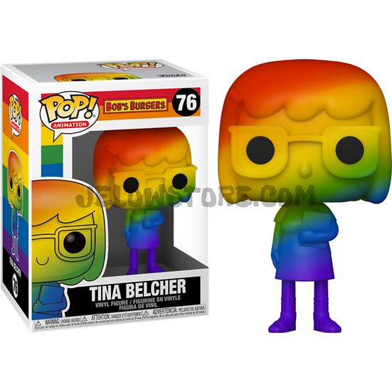 Funko pop [RainbowPride2021] Tina Belcher - #76