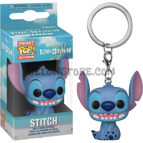 Porte clé Funko pop [Lilo&Stitch] Smiling seated Stitch