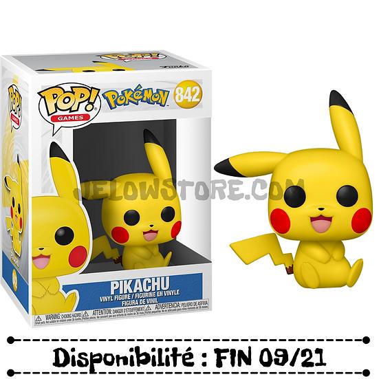 Funko pop [Pokémon] Sitting Pikachu - #842