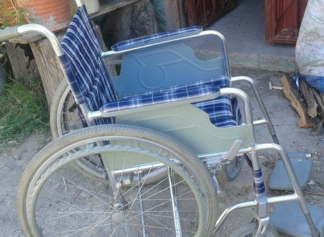 Bought a Wheelchair