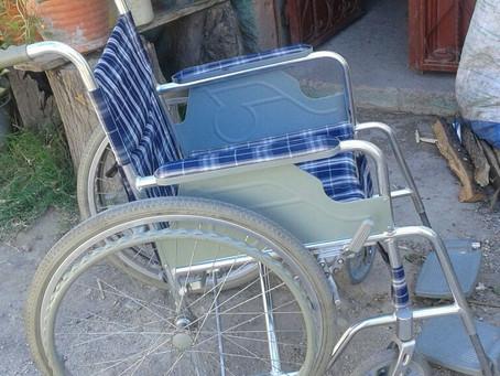 Bought a Wheelchair