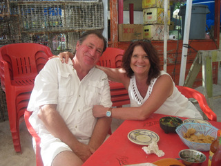 Exotic Isla with hubby Matt