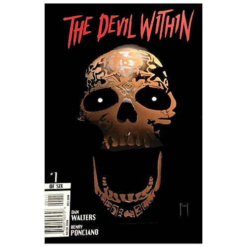 The Devil Within Issue #1 Foil Stamped Variant Cover