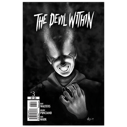 The Devil Within Issue #3 Variant Cover