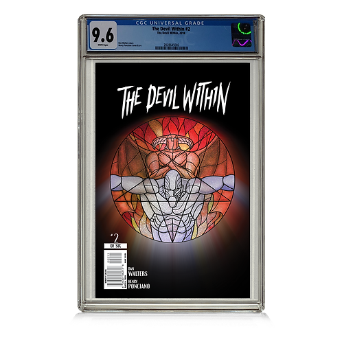 9.6 CGC Graded Issue #2