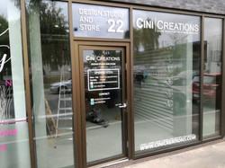 Cini Creations Facade