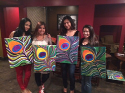 BYOB painting Houston