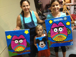 Kid & Family Painting Parties