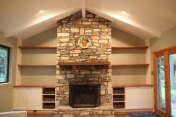 Fireplace Built-Ins 1- after