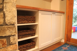 Fireplace Built-Ins 3- after