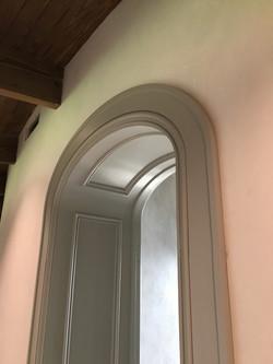 CNC- Finished Arched Entrance