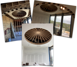 Study Dome Ceiling- Stage1