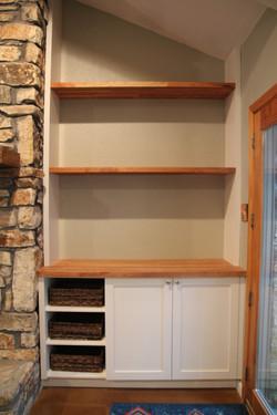 Fireplace Built-Ins 2- after