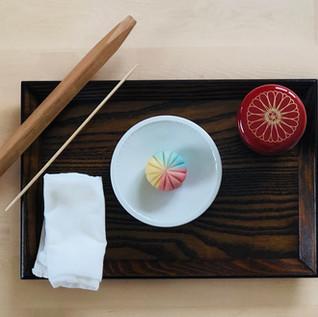 Nerikiri Experience Workshop set up!