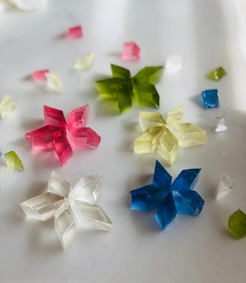 Kohakuto - edible crystals
