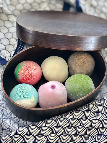 Special set of Japanese confectionery