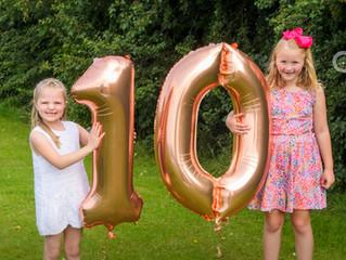 Happy 10th Birthday Tiny Toes Photography!