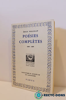 Poésies complètes 1896-1899