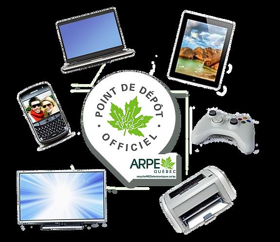 Recyc-Dons, Dépôt officiel ARPE
