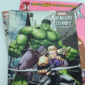 Bandes dessinées Marvel (anglais seulement)
