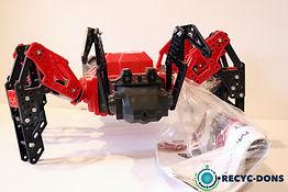 Araignée rouge/noir MECCANO