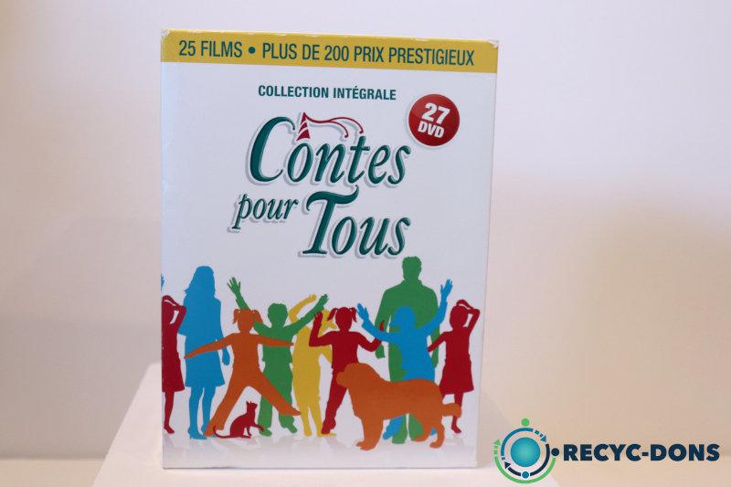 Collection intégrale, contes pour tous (25 films/contes, 27 disques DVD)