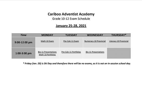 1st Semester Exam Schedule.jpg