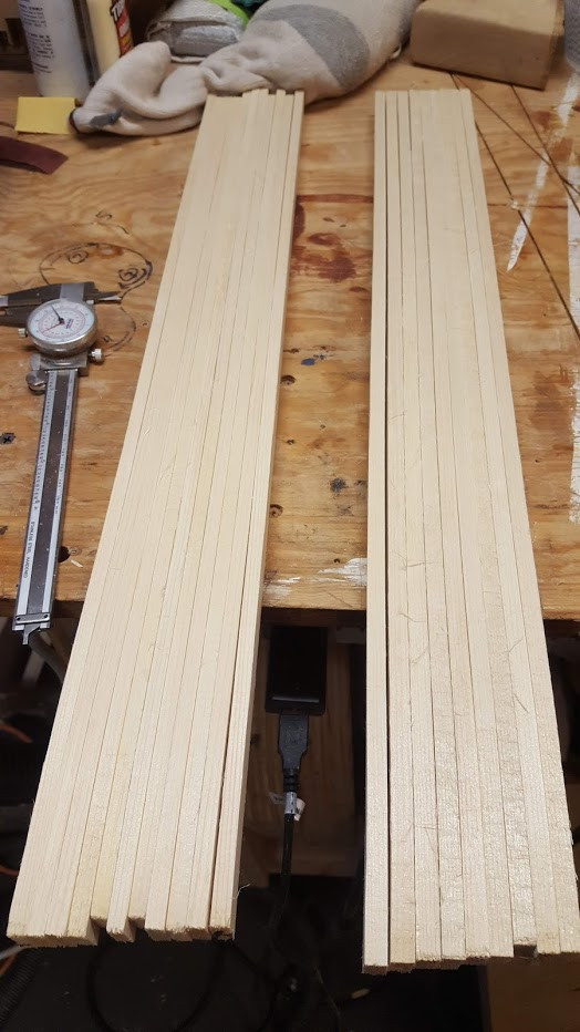 Engleman spruce bracing
