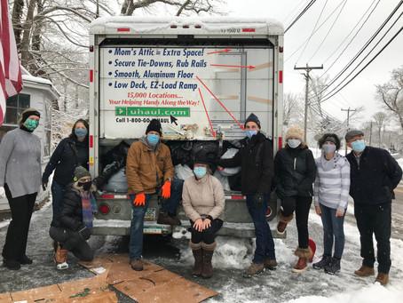 NFVA Winter Fundrive a Huge Success!