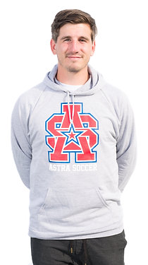ADULT ASTRA HEATHER GREY HOODIE