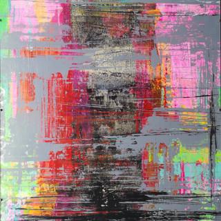 """Série Mirage """" Mémoire """" / 70 x 50 cm /acrylique / 2019"""