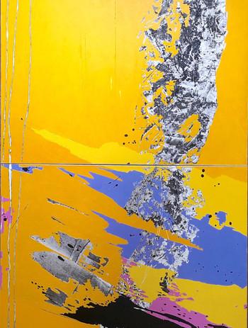 """Zéphir"" /diptyque / 200 x 120 cm / 201"