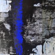 """Transparences"" / 70 x 50 cm /acrylique / 2019"
