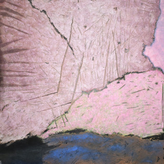 _Vieux rose_ _ 180 x 158 cm _ terre et p