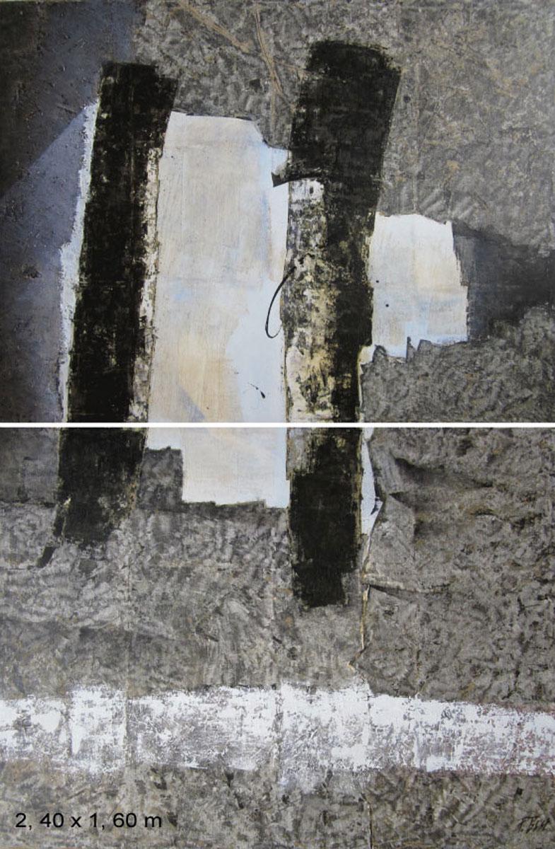 """""""2 colonnes noires"""" 2010"""
