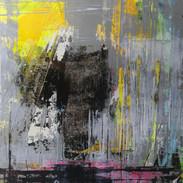 """Série Mirage """"Mémoire 2"""" / 70 x 50 cm /acrylique / 2019"""
