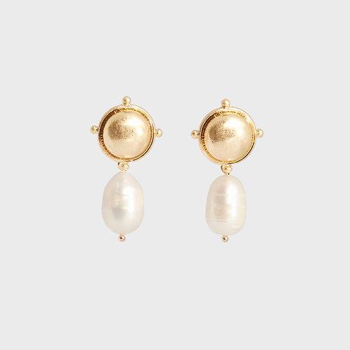 Mina Pearl Earring