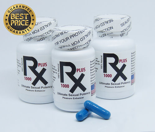 RX 1000 Plus Sexual Potency Special New and Improved Formula