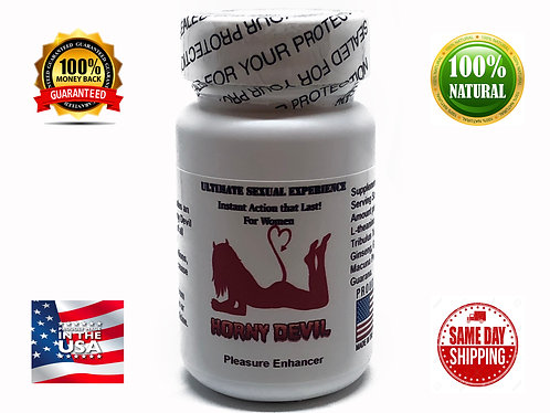 Horny Devil 14 Capsules Instant Action that Lasts for Women