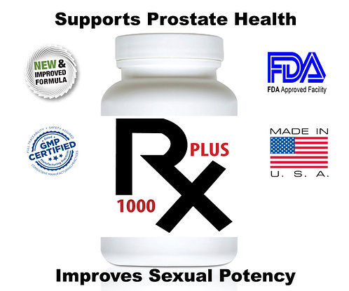 RX1000 Plus Natural Sex Male Supplement 14 Capsules New and Improved
