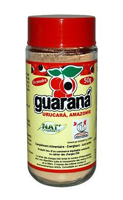 Guarana BIO en poudre 50g